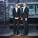 Jude Law y Robert Downey Jr. presentandores de la gala