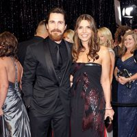 Christian Bale y Sibi Bale en los Oscar 2011