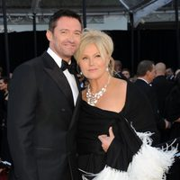 Hugh Jackman y Deborra-Lee Furness en los Oscar 2011
