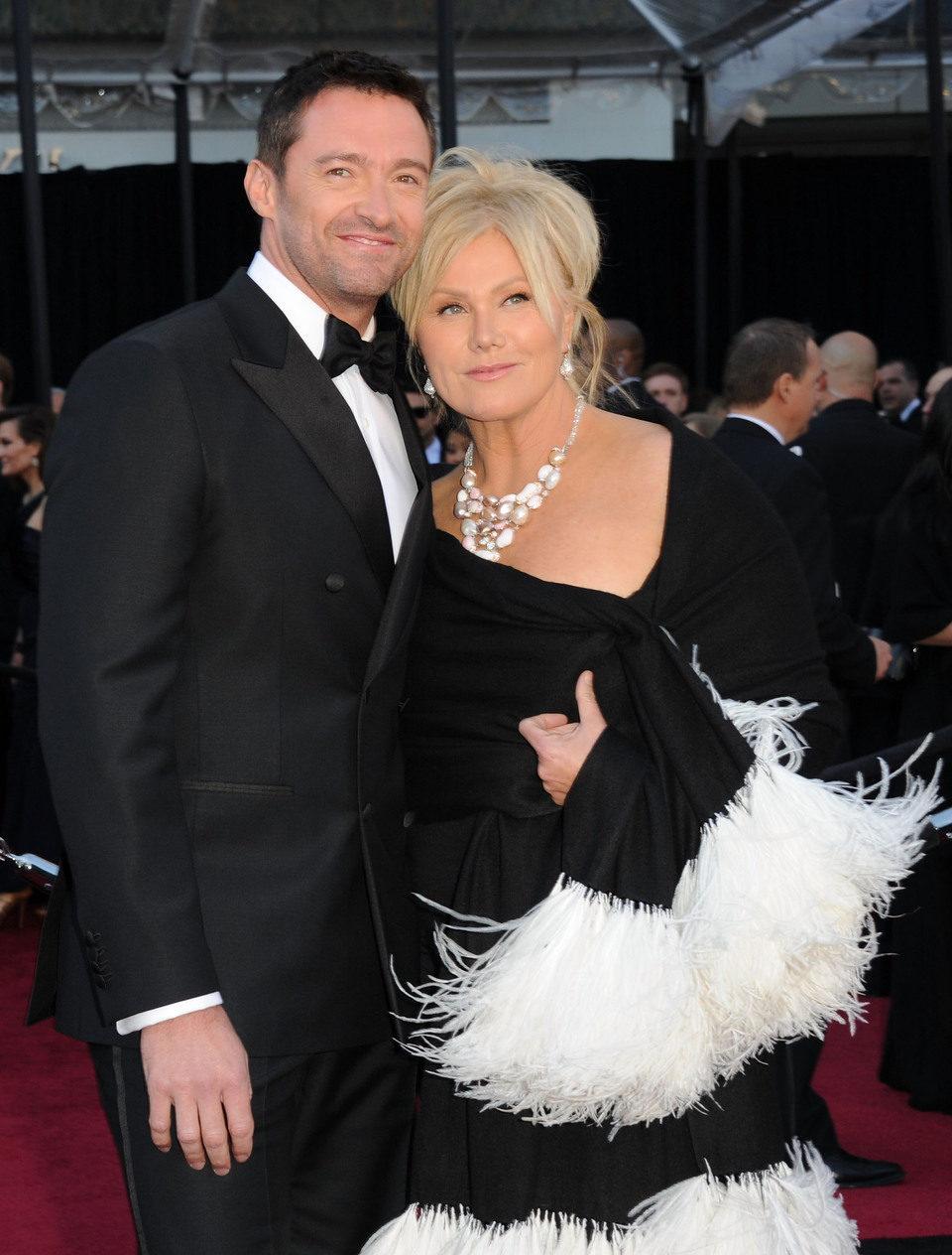 Hugh Jackman y Deborra-Lee Furness en los Oscar 2011