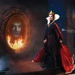 Olivia Wilde y Alec Baldwin como 'Blancanieves'