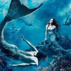 Julianne Moore como 'La Sirenita'