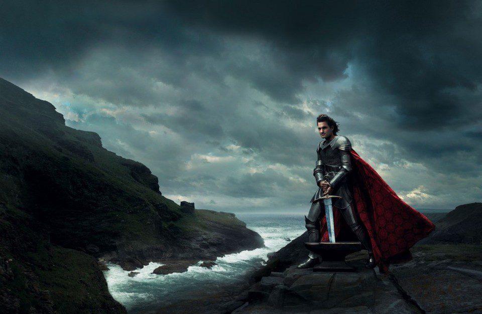Roger Federer como el Rey Arturo