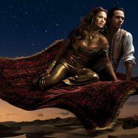 Jennifer Lopez y Marc Anthony como 'Aladdín'