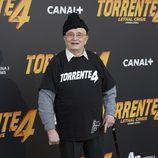 Tony LeBlanc en la rueda de prensa de 'Torrente 4'