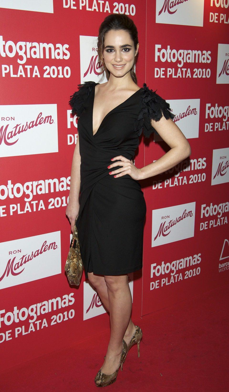 Alicia Sanz en los Fotogramas 2010