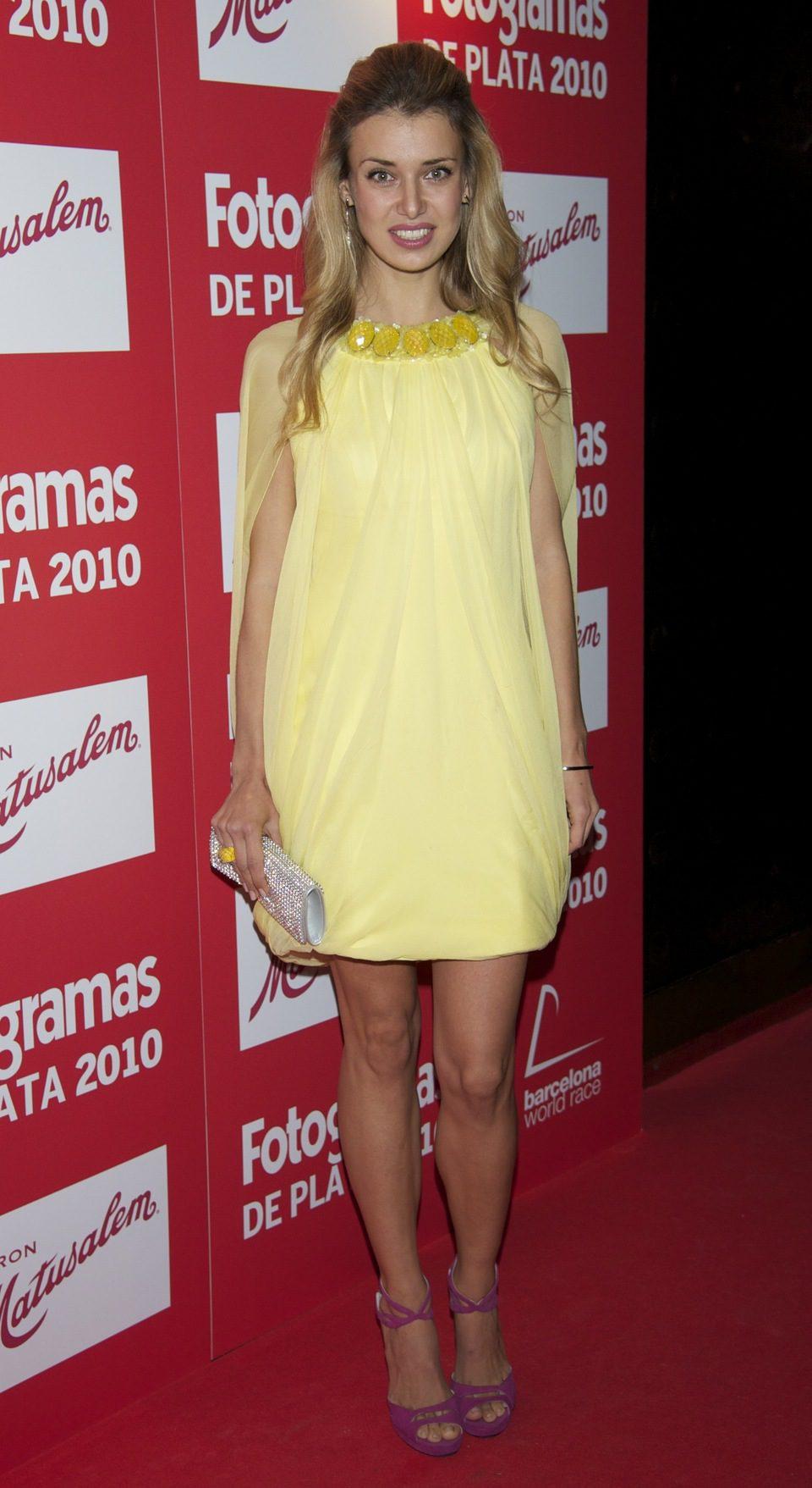 Natasha Yarovenko en los Fotogramas 2010