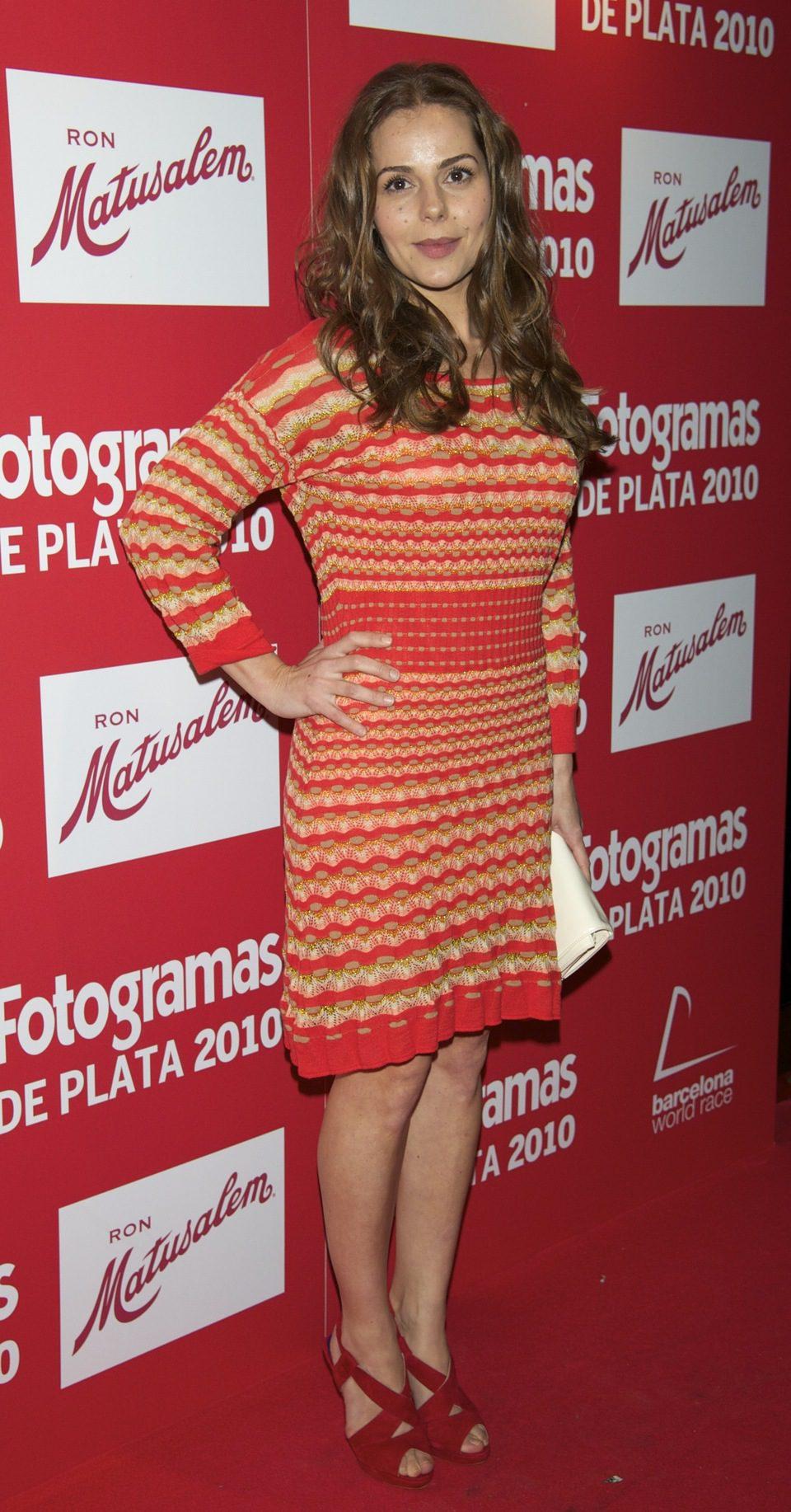 Miryam Gallego en los Fotogramas 2010