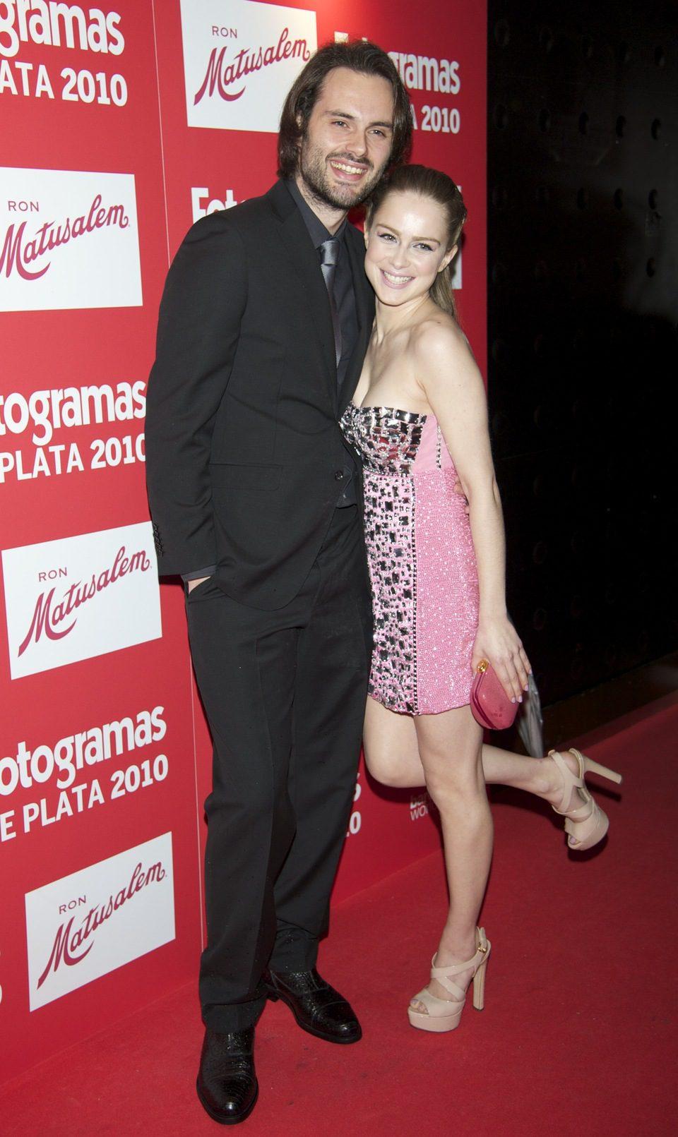 Carla Nieto y Roberto Hoyas