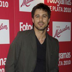 Hugo Silva en los Fotogramas 2010