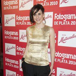 Malena Alterio en los Fotogramas 2010