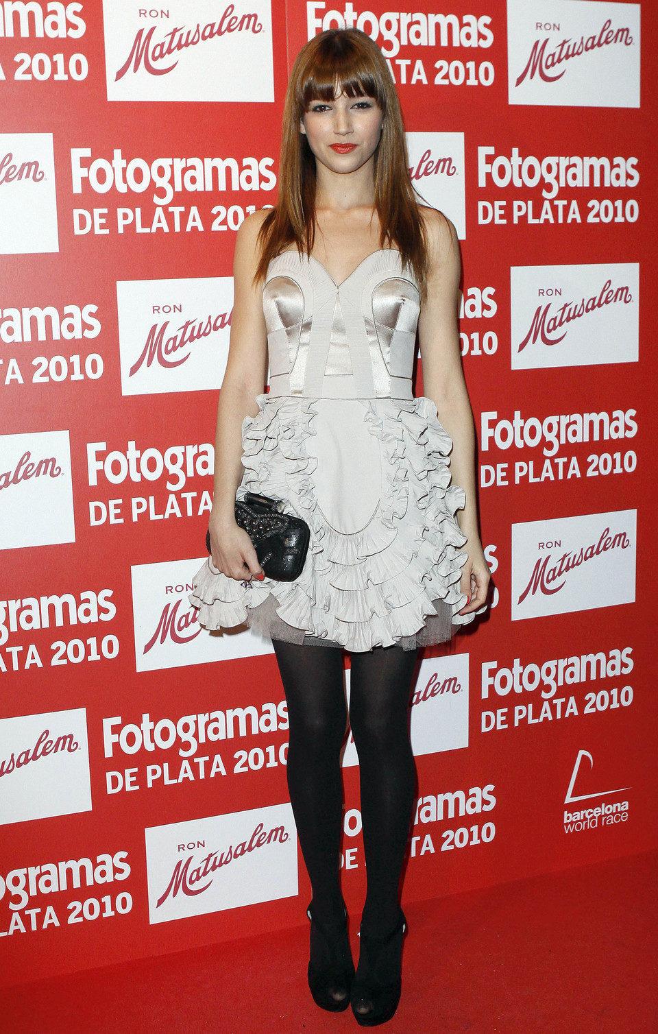 Úrsula Corberó en los Fotogramas 2010