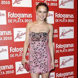 Carla Nieto en los Fotogramas 2010