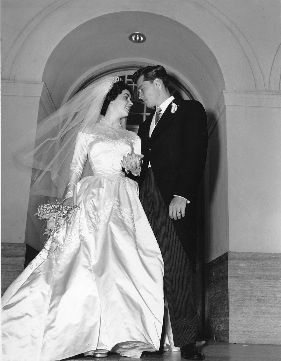 Elizabeth Taylor con Conrad Hilton