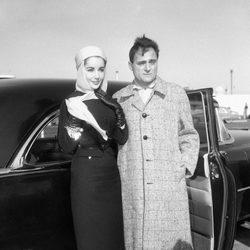 Elizabeth Taylor con Michael Todd