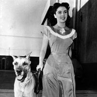 Elizabeth Taylor en 1948