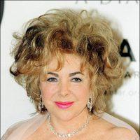 Elizabeth Taylor en una gala contra el SIDA