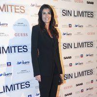 La actriz Elia Galera posa en la Premiére de 'Sin Límites'