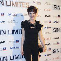 La actriz Bárbara Muñoz asiste a la presentación madrileña de 'Sin Límites'