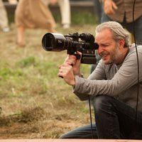 El director Francis Lawrence en el set de 'Agua para elefantes'
