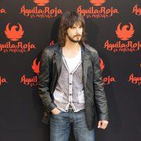 David Janer posa en el photocall de 'Águila Roja, la película'