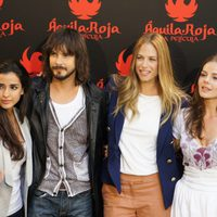 Inma Cuesta, David Janer, Martina Klein y Miryam Gallego, de 'Águila Roja, la película'