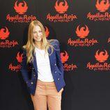 Martina Klein posa en la rueda de prensa de 'Águila Roja, la película'