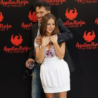 Francis Lorenzo y Miryam Gallego posan en la rueda de prensa de 'Águila Roja, la película'