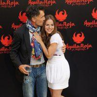 Francis Lorenzo y Miryam Gallego, muy juntos en 'Águila Roja, la película'