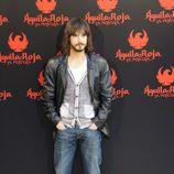 David Janer posa en la rueda de prensa de 'Águila Roja, la película'