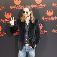 William Miller en la rueda de prensa de 'Águila Roja, la película'