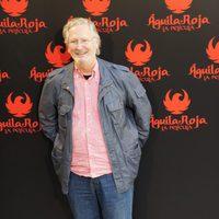 Xabier Elorriaga en la rueda de prensa de 'Águila Roja, la película'