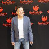 Mariano Peña en la rueda de prensa de 'Águila Roja, la película'