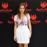 Miryam Gallego en la rueda de prensa de 'Águila Roja, la película'