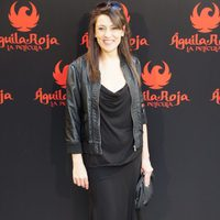 Pepa Aniorte en la rueda de prensa de 'Águila Roja, la película'