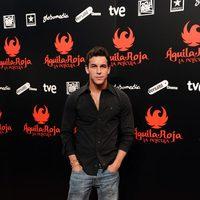 Mario Casas posa en la premiére de 'Águila Roja, la película'
