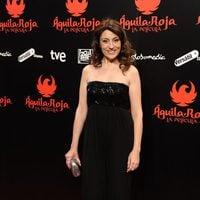 Pepa Aniorte posa en la premiére de 'Águila Roja, la película'