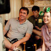 Emma Stone y Tate Taylor en 'The help'