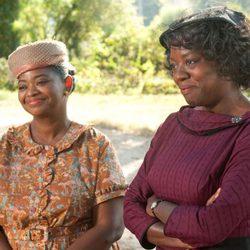 Viola Davis y Octavia Spencer en 'The help'