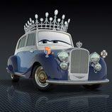 La Reina de Inglaterra motorizada para 'Cars 2'