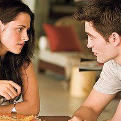 Bella y Edward desayunan en 'Amanecer: Parte 1'