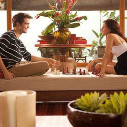 Partida de ajedrez en la luna de miel de Bella y Edward en 'Amanecer'