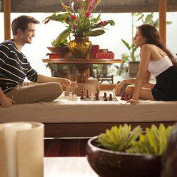 Edward y Bella juegan al ajedrez en 'Amanecer: Parte 1'