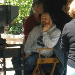 El director Marc Webb en el set de 'The amazing Spider-Man'