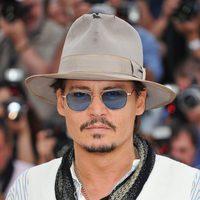 Johnny Depp en el Festival de Cannes 2011