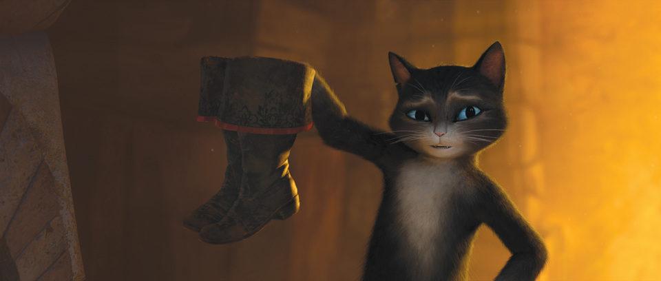 El gato con botas, fotograma 2 de 3