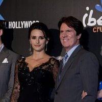Penélope Cruz y Rob Marshall en la premiére madrileña de 'En mareas misteriosas'