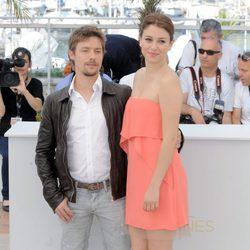Jan Cornet y Blanca Suárez, en el Festival de Cannes