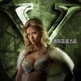 January Jones como Emma Frost en 'X-Men: Primera generación'