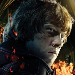 Rupert Grint es Ron Weasley en 'Harry Potter y las reliquias de la muerte: Parte 2'